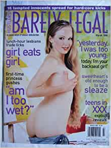 Barely Legal Magazine Current and Back Issues with