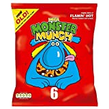 Walkers Monster Munch - Flamin' Hot (6x22g)