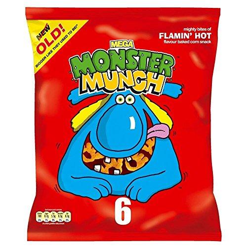 Wanderer Monster Munch - Flamin Heiß (6X22G)