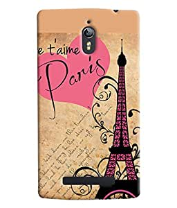 Blue Throat Good Times In Paris Beautifully Design Printed Designer Back Cover For Oppo Find 7