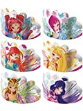 6 Diademas cartón Winx Club