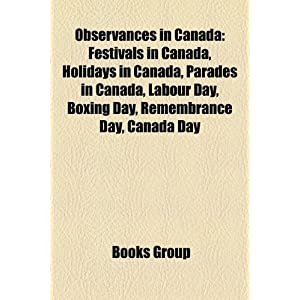 Holidays In Canada Other Observances | RM.