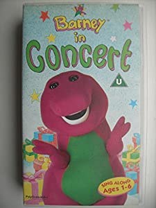 pics photos barney backyard gang vhs 1992 in concert and magical