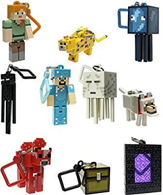 Minecraft Toy Action Figure Hanger Set by Minecraft