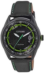Citizen Herren-Armbanduhr XL Analog Quarz Leder AW1184-05E