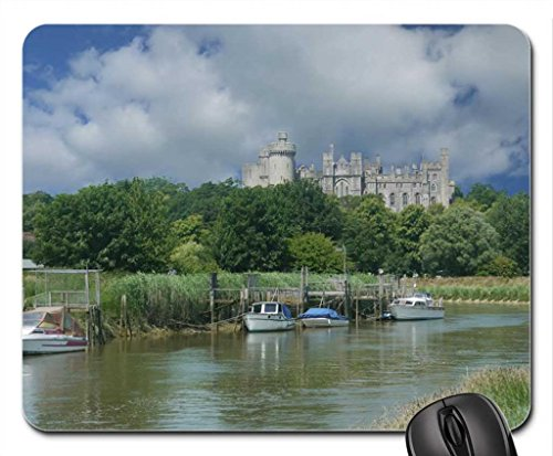 arundel-castle-and-river-arun-mouse-pad-mousepad-ancient-mouse-pad