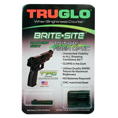 Truglo TFO Handgun Sight Set - Glock Low (Glock Target Sights compare prices)