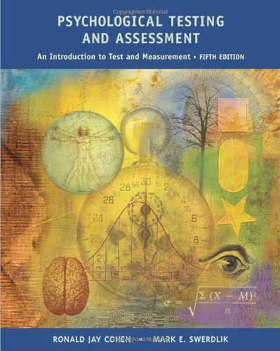 Image for Psychological Testing and Assessment: An Introduction To Tests and Measurement