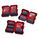 KR Tools 11970 64-Piece X-TREME Drill and Bit Set Combo
