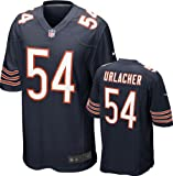 Brian Urlacher Jersey Home Navy Game Replica #54