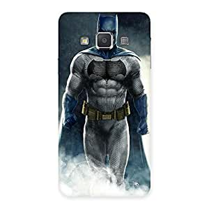 Delighted Blue Knight Walk Back Case Cover for Galaxy A3