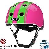 Fahrradhelm Mädchen Rosa, Melon Urban Active - Double Green Pink, Gr. XXS-S