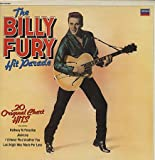 BILLY FURY THE BILLY FURY HIT PARADE 20 ORIGINAL CHART HITS VINYL LP INCLUDING HALF WAY TO PARADISE/JEALOUSY MORE 1982