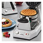 Waring Commercial WW200 Heavy-Duty Double Vertical Belgian Waffle Maker