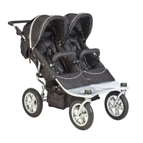 Valco Baby Tri-Mode Twin Stroller Ex- Raven