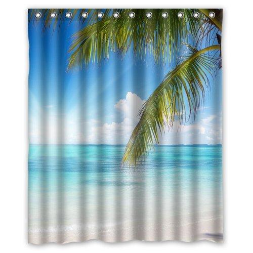 generic-diy-custom-starfish-sunshine-sand-beach-coconut-tree-environmental-waterproof-polyester-fabr
