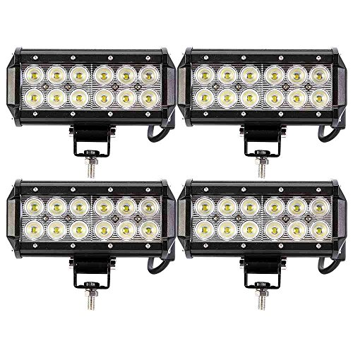 Sanven 4X36W Led Work Light 2520Lm Spot Beam Dual Row Led 7Inch Cree Led Street Price front-599886