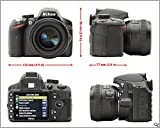 Nikon-D3200-242MP-Digital-SLR-Camera-Black-with-AF-S-18-55mm-VR-Kit-and-AF-S-DX-NIKKOR-35mm-f18G-Twin-Lens-8GB-Card-Camera-Bag