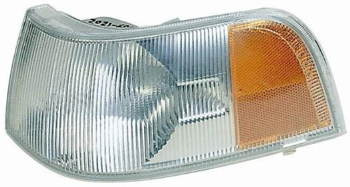 Depo 373-1505R-US Volvo Passenger Side Replacement Parking/Signal Light Unit without Bulb Style: Passenger Side (RH)