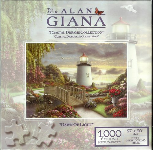 The Art of Alan Giana - Coastal Dreams Collection - Dawn of Light - 1000 Piece Jigsaw Puzzle