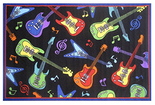 Fun Time-Guitars FT-37 1929 19x29 Inch Childrens Area Rug