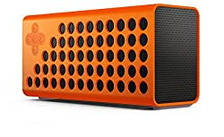Urge Basics Cuatro Powerful Bluetooth Portable Wireless Speaker with Bass+ Technology - Includes Carrying Case and Charging Cable; Compatible with Smartphones, Tablets and Mp3 Players with Bluetooth Capability, Orange