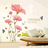 Cortina Vintage Theme Vinyl Wall Stickers Multi Color
