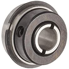 Dynaroll Clamp-Type Collar Bearing, Double Sealed, Flanged, 52100 Chrome Steel