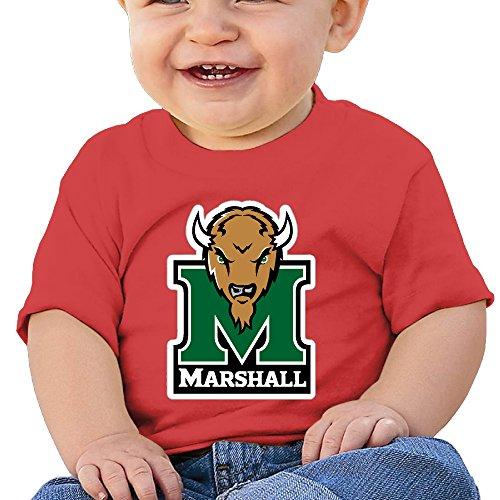 GUC Baby's T-shirt - Marshall University Thundering Herd Red (Marshall Service Shirt compare prices)