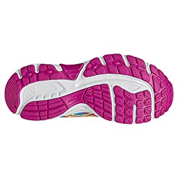 ASICS Pre Contend 3 PS Running Shoe (Little Kid/Little Kid), Flash Yellow/Hot Pink/Turquoise, 1.5 M US Little Kid
