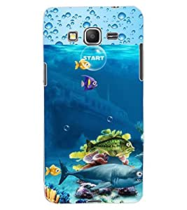 ColourCraft Fishes Design Back Case Cover for SAMSUNG GALAXY GRAND PRIME G530H