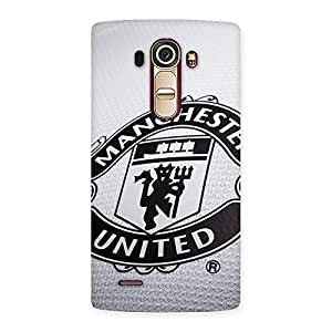 Delighted Grey MU Team Back Case Cover for LG G4