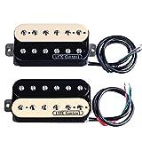 HS2 Electric Guitar Humbucker Pickup for Gibson Les Paul Replacement (Neck&Bridge)