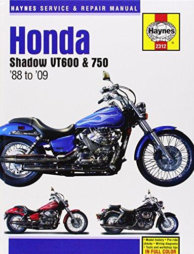 Honda Shadow VT600 & VT750 Automotive Repair Manual (Haynes Automotive Repair Manuals)