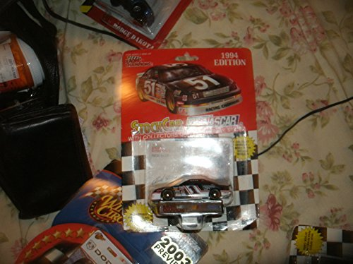 1994 NASCAR Racing Champions . . . Rick Mast #1 Precision Products Racing Ford Thunderbird 1/64 Diecast . . . Includes Collector's Card and Display Stand