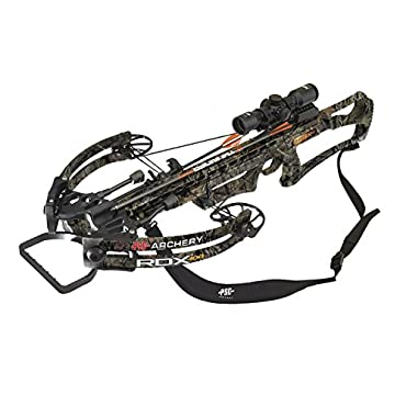 PSE RDX 400 Crossbow Package with XO 3x32 Illuminated Scope (Mossy Oak Country, 01275CY)