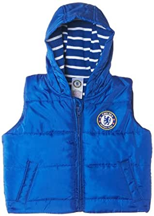 Club Official Soccer Gift Baby Boys Gilet Jacket 3-6 Months: Clothing