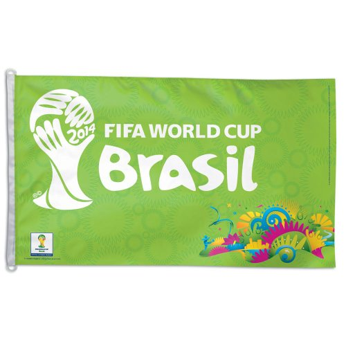 FIFA 2014 World Cup Brasil Brazil 3x5 Horizontal Flag