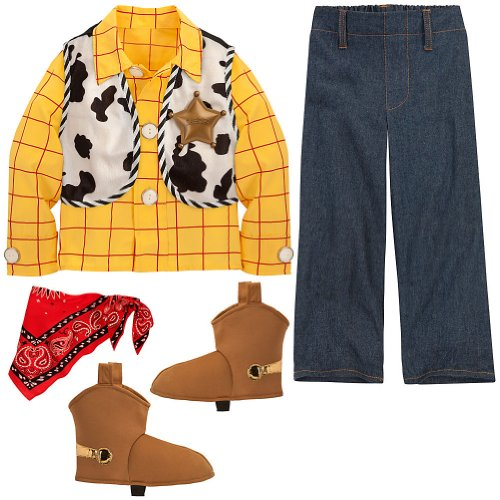 Disney Toy Story Woody Sheriff XXS [ 2 / 3 ] Cowboy Costume for Toddler Boys
