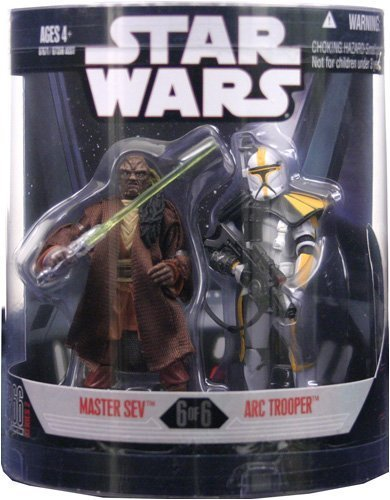 STAR WARS – ORDER 66 – 2-Pack: MASTER SEV + ARC TROOPER – 6 of 6 – Hasbro günstig als Geschenk kaufen