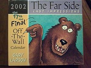 Amazon.com : The Far Side Last Impressions 2002 Off-the-wall Calendar ...