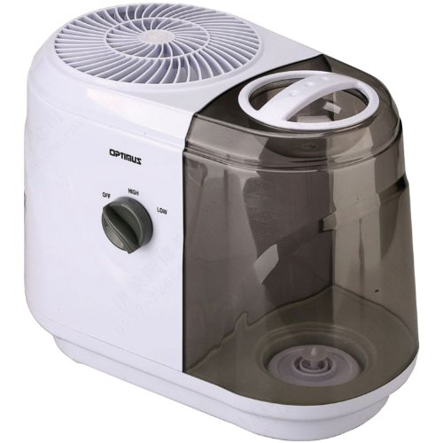 OPTIMUS U-33015 Cool Mist Evaporative Humidifier, 2-Gallon