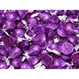 Hershey's Kisses - Dark Chocolate - Purple, 4.5 pounds (Tamaño: 4.5 Pound)