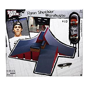 Tech Deck Sheckler Park - Ramp W-Wall