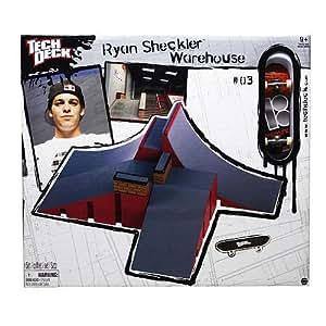 Tech Deck Sheckler Park - Ramp W-Wall
