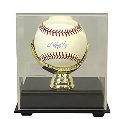 Aroldis Chapman Autographed Cincinnati Reds Baseball with Golden Glove Case Included - PSA/DNA Certified Authentic