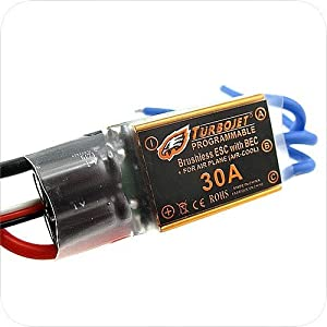 T-jet 30a Brushless Motor Speed Controller Rc ESC W/bec From Thailand.