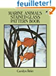 Marine Animals Stained Glass Pattern...