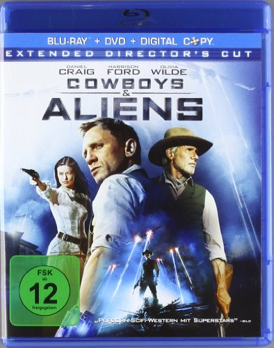 Cowboys & Aliens (inkl. Digital Copy), Extended Cut [Blu-ray]