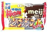 亀田の柿の種 チョコ&アーモンド 85g ×12袋セット [NOS]